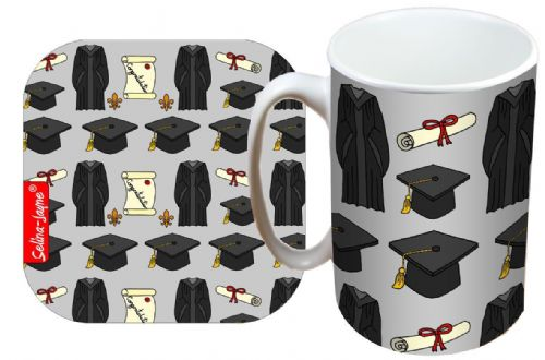 Selina-Jayne Graduation Limited Edition Designer Mug and Coaster Gift Set